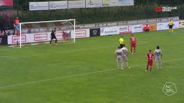 Challenge League, 2018/19, 6 . Runde, FC Rapperswil Jona – FC Aarau, 2:0,  Aldin Turkes