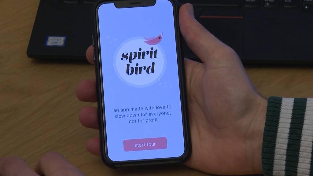 """Mehr Ruhe in Zeiten von Corona mit Hilfe der """"spiritbird""""-App"""