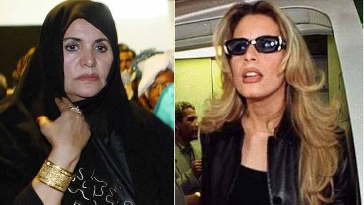 Ehefrau Safia und Tochter Aischa haben Libyien verlassen