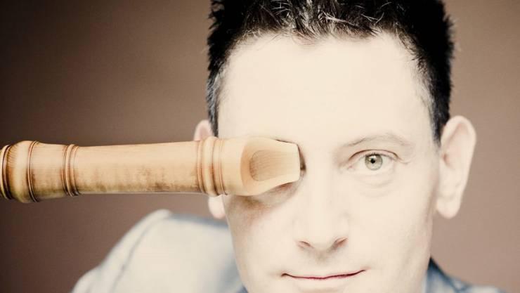 """Der preisgekrönte Winterthurer Blockflöten-Virtuose Maurice Steger ist einer der """"Headliner"""" am Klosters Music Festival. (zVg)"""