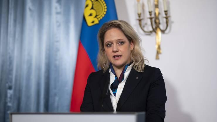 Liechtensteins Justizministerin Katrin Eggenberger will mit der Verlängerung des Covid-19-Gesetzes Rechtssicherheit schaffen.