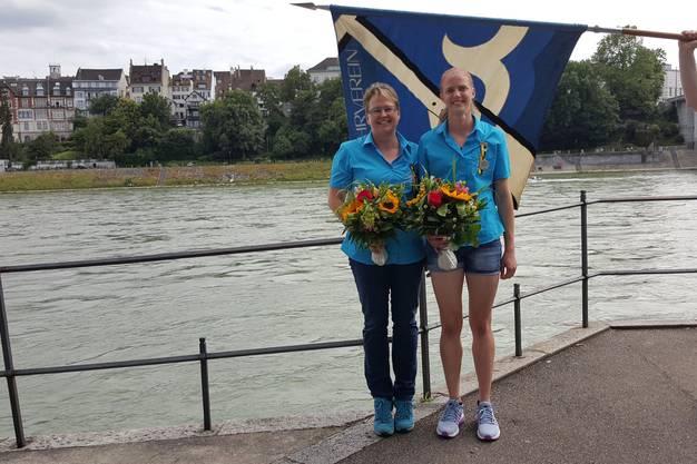 Bei den Frauen durften sich Fabienne Kohler und Eveline Müller über einen Sieg freuen!