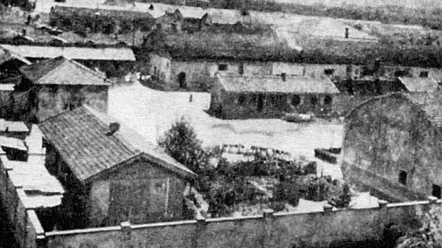 Blick auf das Konzentrationslager in Bozen (Archiv)