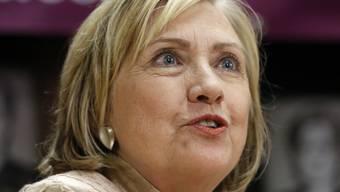 Die ehemalige US-Aussenministerin Hillary Clinton