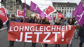 3. Version von Tag der Arbeit: 1. Mai-Umzug in Basel 2018