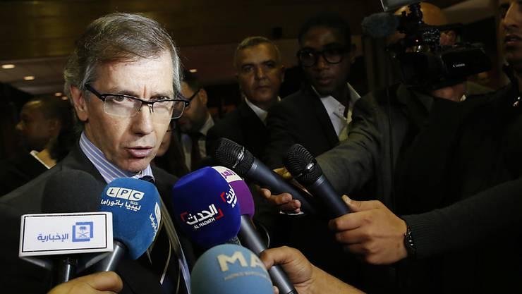 UNO-Vermittler León wirbt eindringlich für seinen Plan