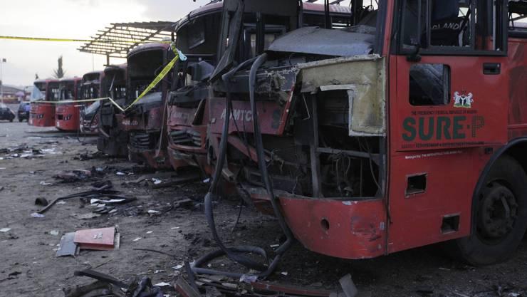 Das Attentat fand an einem belebten Busbahnhof statt.