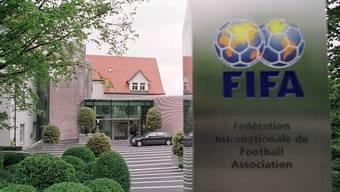 Fussball-Zentrale in Zürich - die FIFA - Verein mit ideellem Zweck (Archiv)