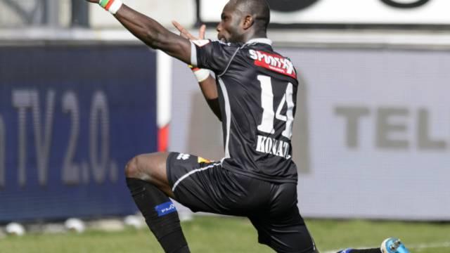 Moussa Konaté avancierte im Tourbillon zum Matchwinner