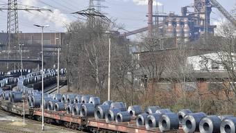 Stahl der Firma Thyssenkrupp (Archivbild).