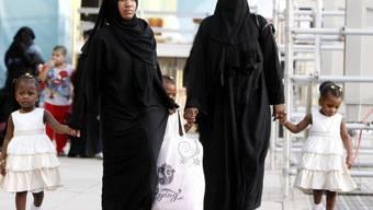 Schutz vor häuslicher Gewalt: Frauen in Saudi-Arabien (Symbolbild)