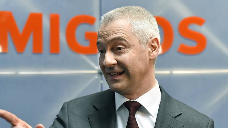 Fabrice Zumbrunnen ist seit Januar 2018 Geschäftsleiter und Präsident der Generaldirektion des Migros-Genossenschafts-Bundes.