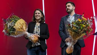 Mattea Meyer und Cédric Wermuth stellen das neue SP-Präsidium.