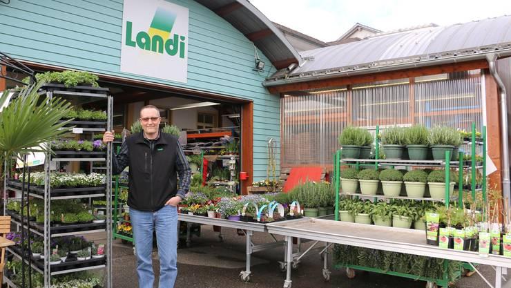 Seit 1999 für die «Landi Frila» tätig: Geschäftsführer Thomas Tschanz.