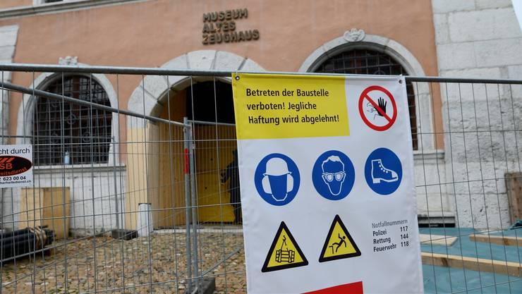 Das Museum Altes Zeughaus in Solothurn bekommt nicht nur eine Rundum-Erneuerung, sondern auch eine neue Rechtsform.