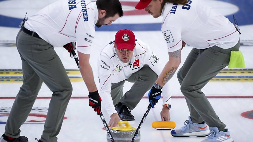Trotz Corona-Fällen: Curling-WM kann fortgesetzt werden