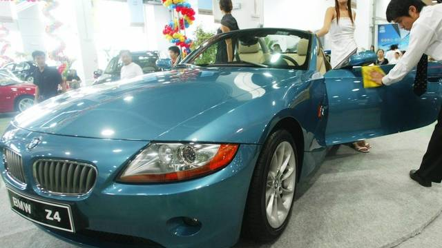 BMW Z4 bei Automesse in China 2003