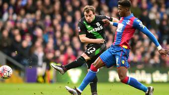 Xherdan Shaqiri kam gegen Crystal Palace mehrmals zum Abschluss, blieb aber ohne Torerfolg