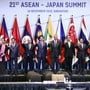 Gruppenbild vom Asean-Gipfel am Mittwoch in Singapur.