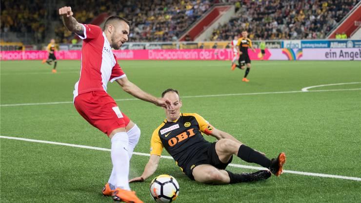 Dejan Sorgic weiss, wie man YB besiegen kann: Vergangene Saison holte der FC Thun aus den vier Duellen mit dem grossen Rivalen sieben Punkte.