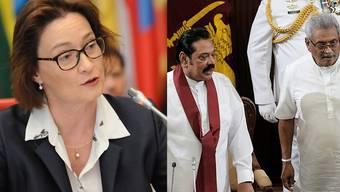 Eine Angestellte der Schweizer Botschaft in Colombo (LKA) ist von Unbekannten festgehalten und bedroht worden. Sie sollte Informationen im Zusammenhang mit einem in die Schweiz geflüchteten Polizeiinspektor preisgeben.