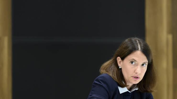 Nora Kronig, Leiterin Internationales beim Bundesamt für Gesundheit, ist unter anderem für die Beschaffung der Corona-Impstoffe zuständig.