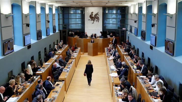 Das wallonische Regionalparlament berät in Namur das Handelsabkommen Ceta zwischen Kanada und der EU.