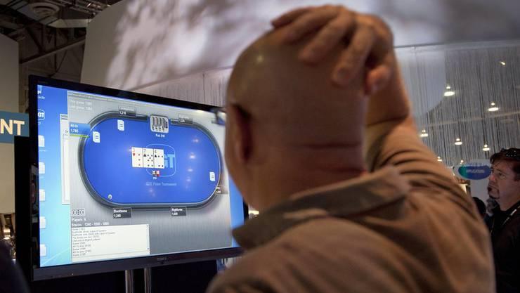 «Pokerstars.com » könnte bald für Schweizer Spieler wieder erreichbar sein. (Quelle: Keystone)