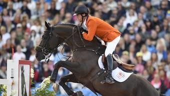 Harrie Smolders nimmt die letzte Hürde zum Gesamtsieg auf der Global Champions Tour