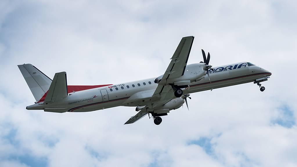 Die Fluggesellschaft Adria Airways stellt vorübergehend ihren Flugbetrieb ein - offenbar ist der Airline das Geld ausgegangen. (Archivbild)