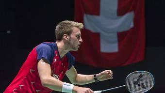 Out in der 1. Runde: Christian Kirchmayr, der derzeit beste Schweizer Einzelspieler, verpasste bei der Heim-WM eine Überraschung