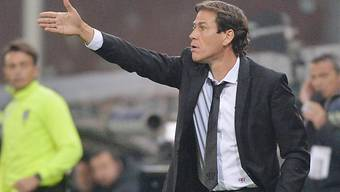 Unzfrieden: Roma-Trainer Rudi Garcia