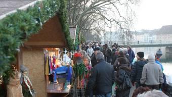 Ein Bild vom Solothurner Wiehnachtsmäret 2013