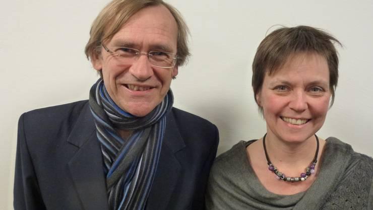 Fränzi Burkhalter-Rohner und Andreas Bühlmann.