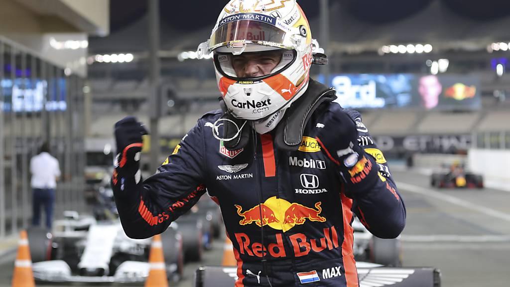 Max Verstappen lanciert Titel-Duell mit Pole-Position