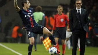 Angel Di Maria traf in der 75. Minute zum 1:0-Sieg von PSG in Rennes.