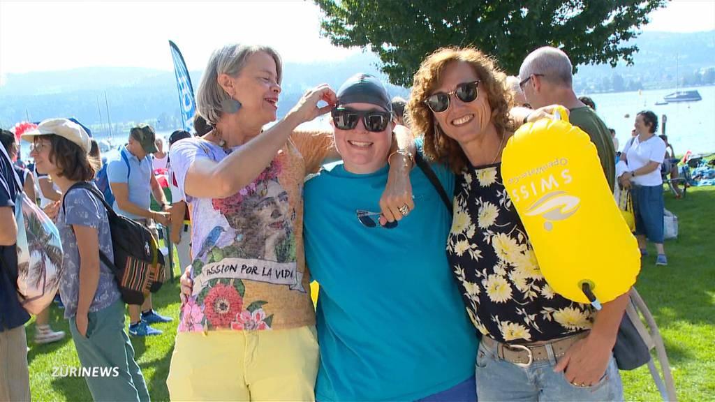 Greifensee-«Überquerung» mit Menschen mit Handicap