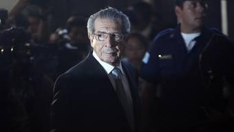 Ist im Alter von 91 Jahren gestorben: Der frühere guatemaltekische Diktator Efraín Ríos Montt. (Archiv)