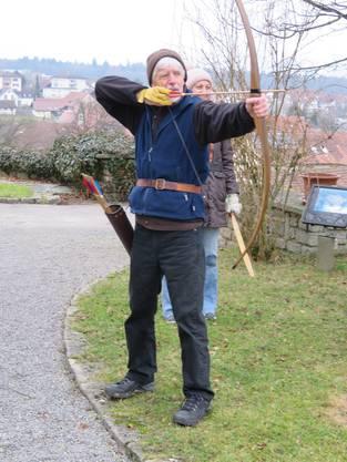Walter Landolt, Co-Leiter Bogenschiessen in Niederlenz