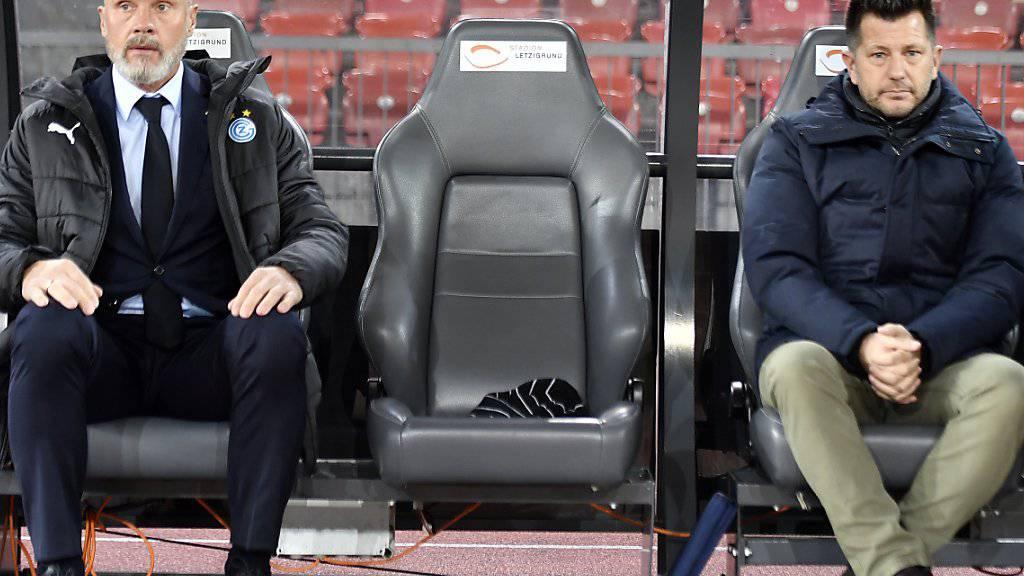 Wer setzt sich bei GC auf den freien Sitz, nachdem Trainer Thorsten Fink und Sportchef Mathias Walther abgesetzt sind?