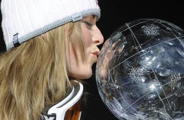 Lindsey Vonn holte sich die Kristallkugeln in Abfahrt und Super-G