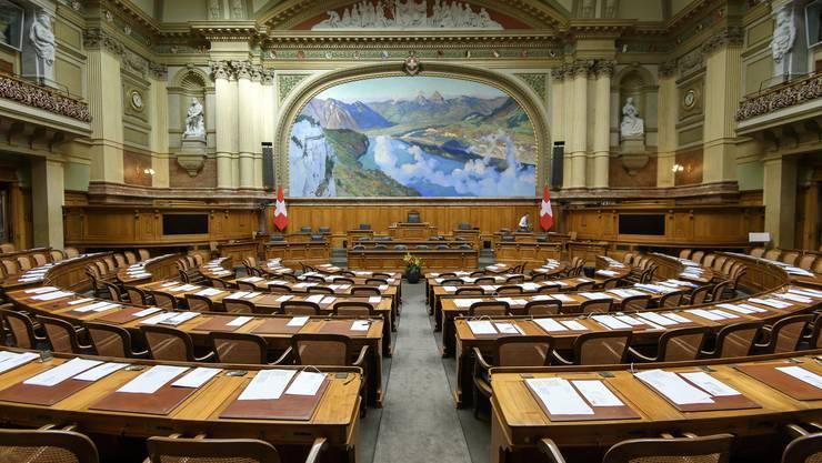 Abstandhalten nicht möglich - jetzt suchen die Parlamentsdienste ein «Ersatz-Bundeshaus» im Raum Bern.