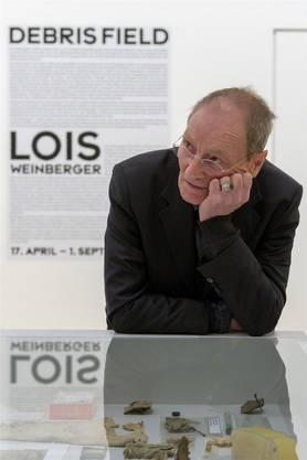 Lois Weinberger zu Gast im Museum Tinguely.