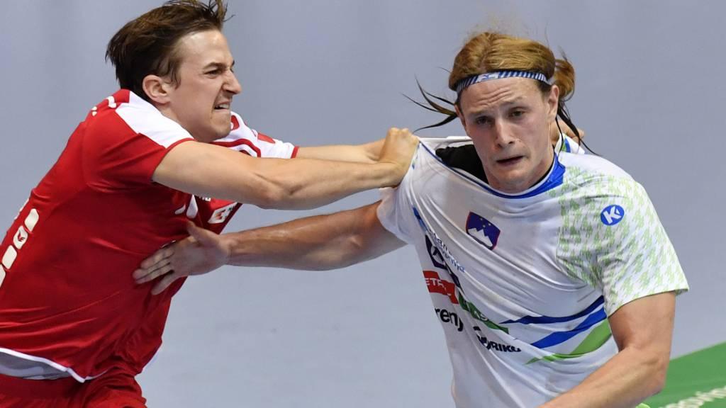 Auch Slowenien in der Halbfinals der Handball-EM