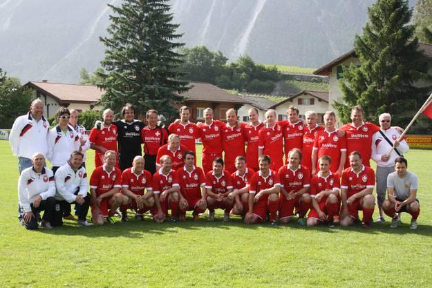 Schweizer Winzer Fussball Nati