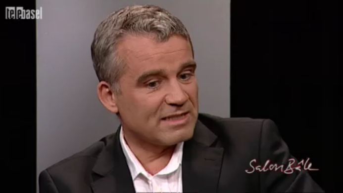 SP-Nationalrat Beat Jans in der Sendung «Salon Bâle» auf TeleBasel.