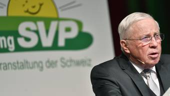 Sorgt mal wieder für Schlagzeilen: SVP-Doyen Christoph Blocher.