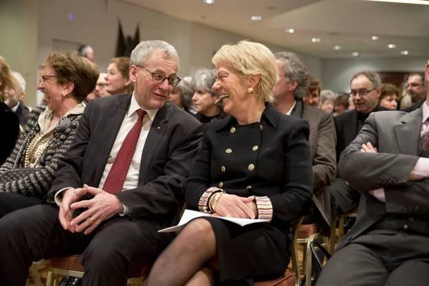 Stadtpräsident Kurt Fluri und Carla del Ponte.