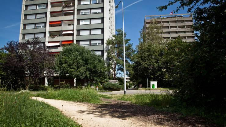 Das Quartier Burgerbeunden weist hohe Bauten auf