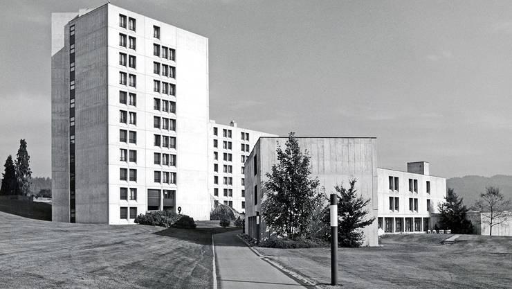 So sah das alte Kantonsspital Baden aus